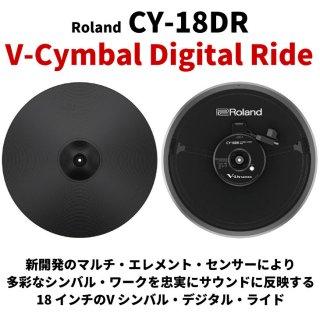 Roland (ローランド) Vシンバル・デジタル・ライド 18 インチ V-Cymbal Digital Ride CY-18DR