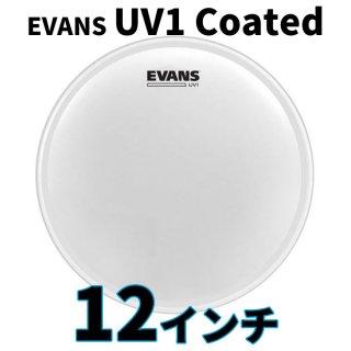 EVANS(エバンス) UV1 コーテッド 12インチ タム打面用ヘッド B12UV1