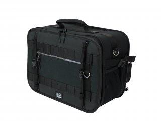 Pearl ( パール )  ブラックジャムシリーズ ドラムペダルバッグ (セミハード / ツインペダル対応 / ショルダーストラップx2付) PSC-BJPB