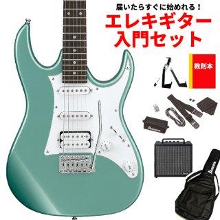 【届いたらすぐに始めれる!エレキギター入門セット】<br>Ibanez ( アイバニーズ ) GIOシリーズ エレキギター GRX40(MGN:メタリック ライトグリーン)