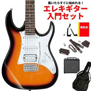 【届いたらすぐに始めれる!エレキギター入門セット】<br>Ibanez ( アイバニーズ ) GIOシリーズ エレキギター GRX40(TFB:トライフェイドバースト)