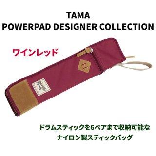 TAMA (タマ) POWERPAD DESIGNER COLLECTION スティックバッグ カラー:ワインレッド TSB12WR