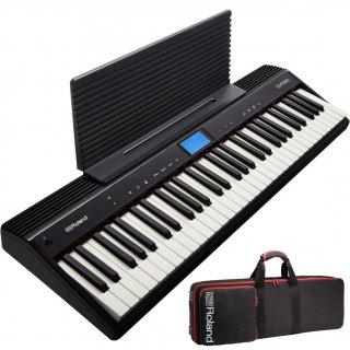 Roland (ローランド) キーボード (61鍵) GO:PIANO GO-61P【専用キャリングケースセット】【はじめての鍵盤ワークショップ動画プレゼント】