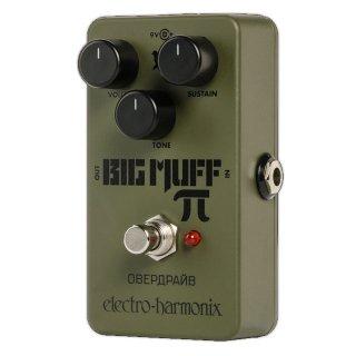 electro-harmonix (エレクトロ・ハーモニックス) Green Russian Big Muff  グリーン・ロシアン・ビッグマフ