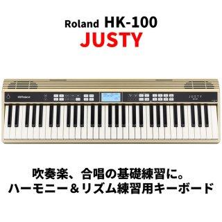 Roland (ローランド) ハーモニー&リズム練習用キーボード JUSTY HK-100