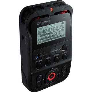 Roland (ローランド) 高音質オーディオ・レコーダー ブラック R-07 BK
