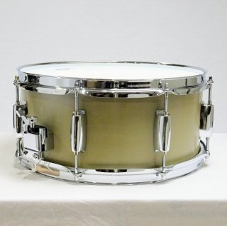 "Shirai Keet Acoustic Drums ""Nue"" Green Beans 13″x5.75 N-SD13575 シライキート ヌウ スネアドラム"