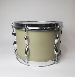 "Shirai Keet Acoustic Drums ""Nue"" Green Beans 10″x7″ N-TT1007 シライキート ヌウ タム スタンド付き"
