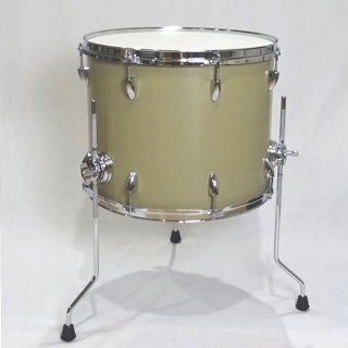"Shirai Keet Acoustic Drums ""Nue"" Green Beans 16″x12.5″ N-FT16125 シライキート ヌウ フロアタム"