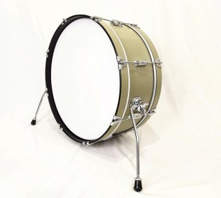 "Shirai Keet Acoustic Drums ""Nue"" Green Beans 22″x 8″ N-BD2208 シライキート ヌウ バスドラム"