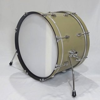 "Shirai Keet Acoustic Drums ""Nue"" Green Beans 22″x14″ N-BD2214 シライキート ヌウ バスドラム"
