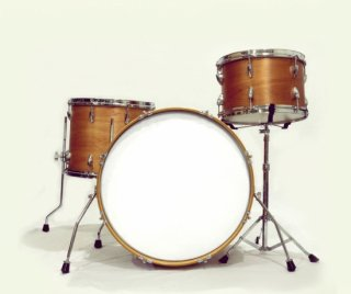 "Shirai Keet Acoustic Drums ""Nue"" Cinnamon Roast NK-KIT20L シライキート ヌウ シェルキット"