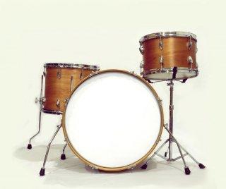 "Shirai Keet Acoustic Drums ""Nue"" Cinnamon Roast NK-KIT22 シライキート ヌウ シェルキット"