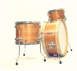 "Shirai Keet Acoustic Drums ""Nue"" Cinnamon Roast NK-KIT22T シライキート ヌウ シェルキット"