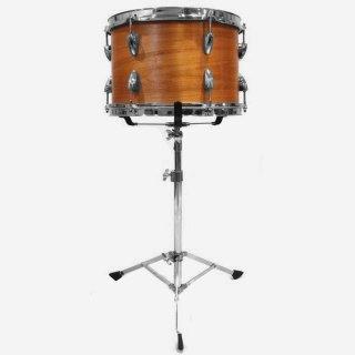 "Shirai Keet Acoustic Drums ""Nue"" Cinnamon Roast 13″x9″ NK-TT1309 シライキート ヌウ タム スタンド付き"