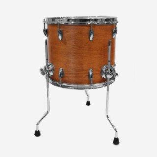 "Shirai Keet Acoustic Drums ""Nue"" Cinnamon Roast 14″x12″ NK-FT1412 シライキート ヌウ フロアタム"