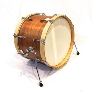 "Shirai Keet Acoustic Drums ""Nue"" Cinnamon Roast 18″x12″ NK-BD1812 シライキート ヌウ バスドラム"