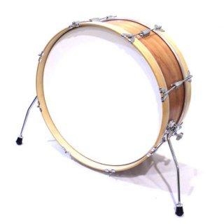 "Shirai Keet Acoustic Drums ""Nue"" Cinnamon Roast 22″x8″ NK-BD2208 シライキート ヌウ バスドラム"