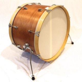 "Shirai Keet Acoustic Drums ""Nue"" Cinnamon Roast 22″x14″ NK-BD2214 シライキート ヌウ バスドラム"