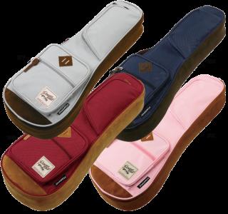 Ibanez ( アイバニーズ ) POWERPAD Designer Collection Bag ソプラノ用ウクレレバッグ IUBC541 【選べる4色】