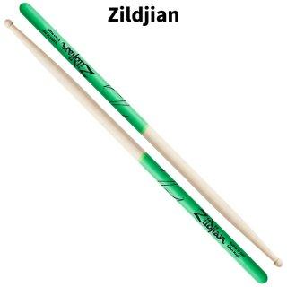 Zildjian (ジルジャン) ドラムスティック スーパー 7A グリーンDIP メイプル 406×13.3mm(1ペア) 【定形外郵便】【送料無料】