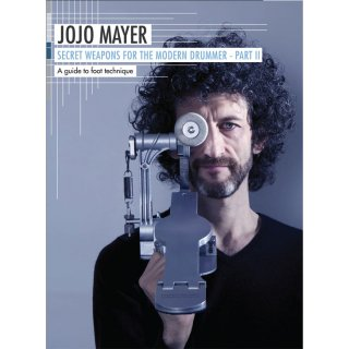 【教則DVD】SECRET WEAPONS for the Modern Drummer Part II by Jojo Mayer(ジョジョ・メイヤー)