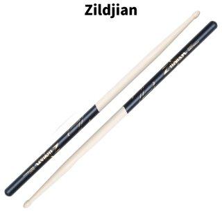 Zildjian (ジルジャン) ドラムスティック 5A ヒッコリー ブラックDIP 406×14.2mm(1ペア) 【定形外郵便】【送料無料】