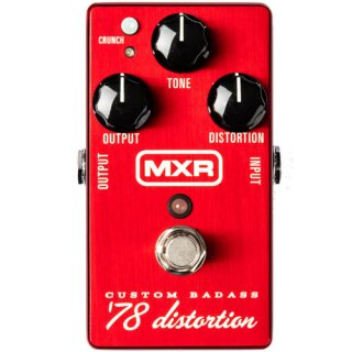 MXR (エムエックスアール) Custom Badass '78 Distortion M78