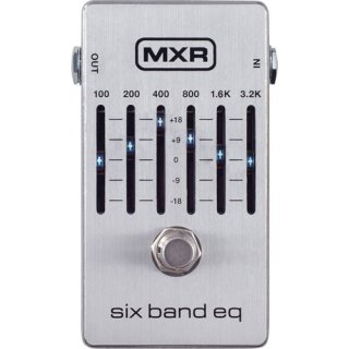 MXR (エムエックスアール) Six Band Graphic EQ M109S
