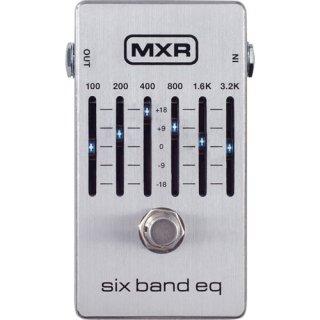 MXR (エムエックスアール) Six Band Graphic EQ M109S