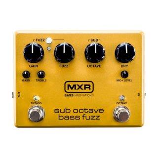 MXR (エムエックスアール) Sub Octave Bass Fuzz M287