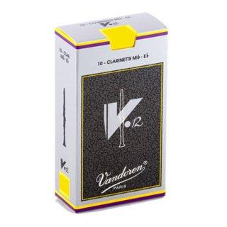 Vandoren(バンドレン) E♭クラリネット用リード V.12(10枚入)【強度をお選びください】