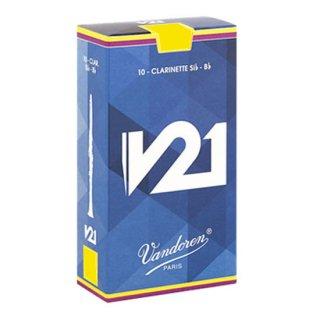 Vandoren(バンドレン) B♭クラリネット用リード V21(10枚入)【強度をお選びください】