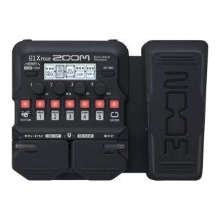 ZOOM (ズーム) ギター用マルチエフェクツ・プロセッサー G1X FOUR