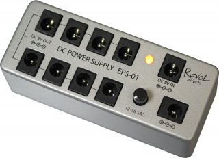 Revol effects (レヴォルエフェクツ)   DC POWER SUPPLY EPS-01SET