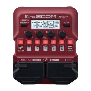 ZOOM (ズーム) ベース用マルチエフェクツ・プロセッサー B1 FOUR