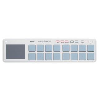 KORG (コルグ) USB MIDIコントローラー nanoPAD2 ホワイト
