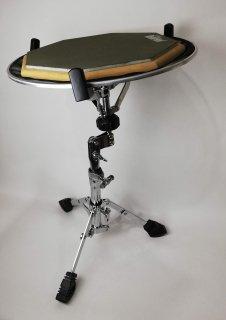 白井式 スネアドラム練習パッド(RF12G)+スタンドセット防振練習セット