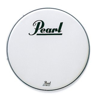 Pearl (パール)  SWバスドラム用へッド パール・ロゴ入り 22インチ SW-22B