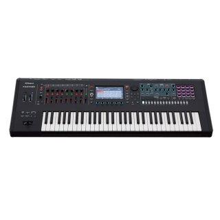 Roland (ローランド) シンセサイザー・キーボード MUSIC WORKSTATION FANTOM-6<br>61 鍵(セミウェイテッド鍵盤、アフタータッチ対応)