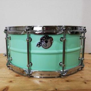 Pork Pie  Percussion シームレスアルミスネアドラム 14