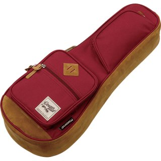 Ibanez ( アイバニーズ ) POWERPAD Designer Collection Bag IUBS541 ソプラノ用ウクレレバッグ カラー:ワインレッド