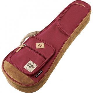 Ibanez ( アイバニーズ ) POWERPAD Designer Collection Bag IUBC541 コンサート用ウクレレバッグ カラー:ワインレッド