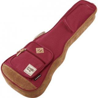 Ibanez ( アイバニーズ ) POWERPAD Designer Collection Bag IUBT541 テナー用ウクレレバッグ カラー:ワインレッド