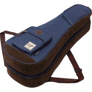 Ibanez ( アイバニーズ ) POWERPAD Designer Collection Bag IUBT2542 ジョイント方式の2本収納可能ウクレレバッグ カラー:ネイビー