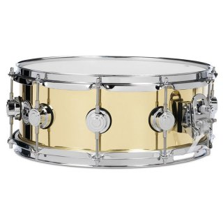 """dw(ディーダブリュ)スネアドラム Collector's Metal Snares BELL BRASS 14""""x6.5"""""""