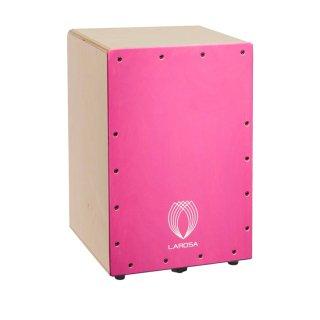 【キャリングケースプレゼント中】La Rosa Percussion(ラ・ローザ・パーカッション)Juniorシリーズ カホン Junior Pink(ジュニア・ピンク)