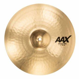 【シンバルケースプレゼント】<br>SABIAN (セイビアン) AAX MEDIUM HATS 15