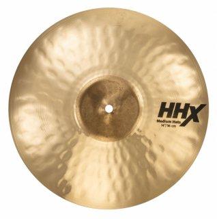 【シンバルケースプレゼント】<br>SABIAN (セイビアン) HHX MEDIUM HATS 14