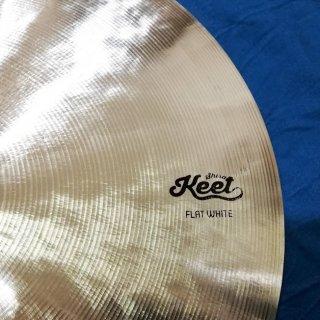 Shirai Keet Acoustic Cymbals FLAT WHITE シライキート フラットホワイト